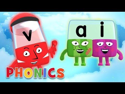 Phonics - Learn to Read | Vowels | Alphablocks
