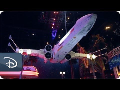 Assembling the Fan-Built Star Wars Vehicles on Display at Disneyland Paris