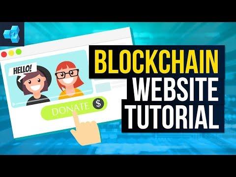 The ULTIMATE Blockchain Website Tutorial