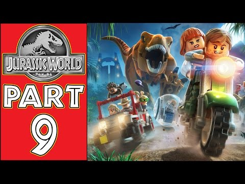 LEGO Jurassic World - Let's Play - Part 9 - [Communications Centre] -