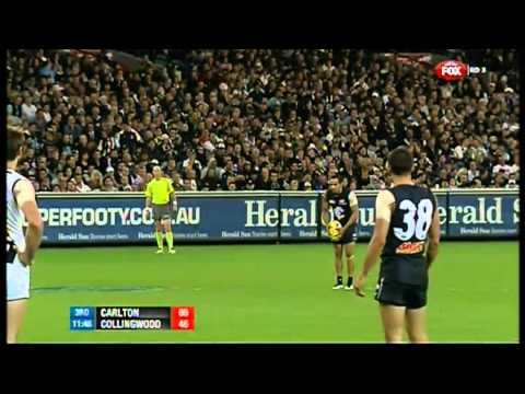 2012 R3 Carlton v Collingwood
