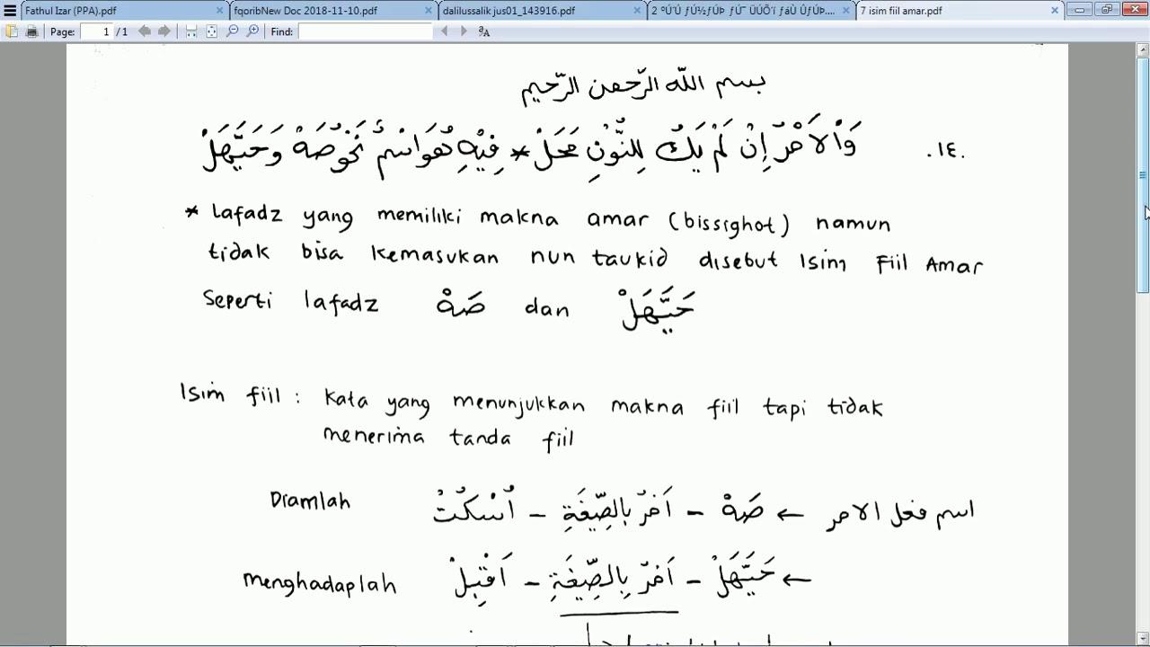 Kitab Alfiyah Pdf