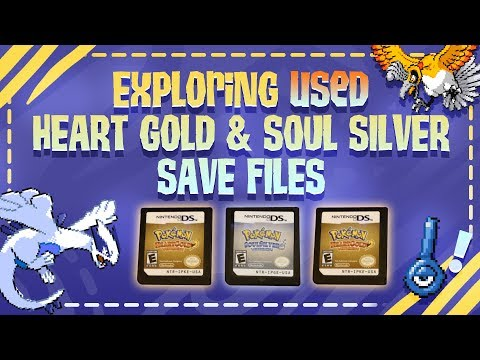 Exploring 3 Used Copies Of Heart Gold And Soul Silver From Game Stop!