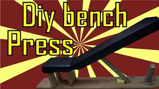Diy Bench Press - Adjustable