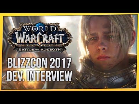 Battle for Azeroth | FinalBossTV BlizzCon 2017 Dev. Interview | Ion Hazzikostas & Alex Afrasiabi