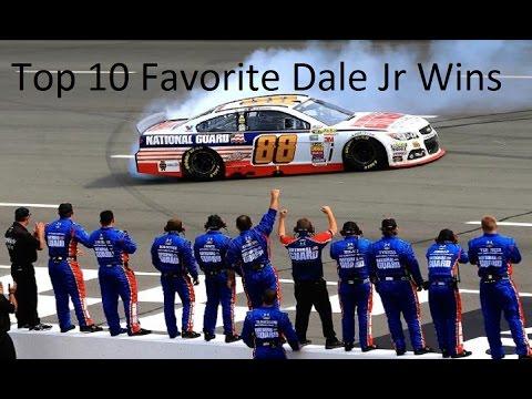 My Top 10 Favorite Dale Jr Wins