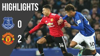Everton 0-2 Manchester United | Premier League Highlights (17/18) | Manchester United