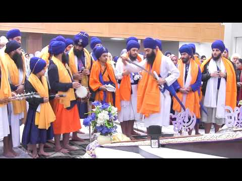 Aarti Arta and Ardas | Surrey BC Youth | Guru Gobind Singh Ji Gurpurbh 2017