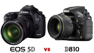 canon eos 5d mark iii vs nikon d810 new comparison nikon vs canon