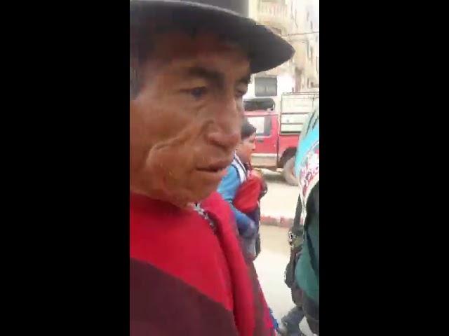 Marcha Qhara Qhara. Reporte dia 7, paso por la ciudad de Potosi