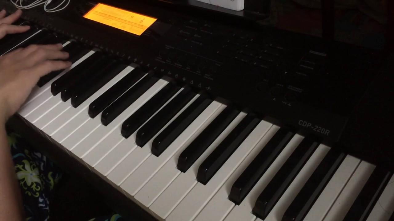 何雁詩Stephanie-《愛近在眼前》 劇集'踩過界'片尾曲 琴譜 Piano