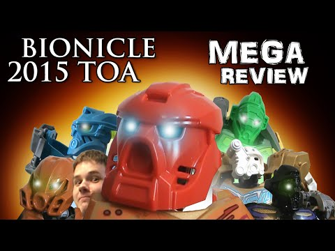 Bionicle 2015 Toa MEGAreview by NickonAquaMagna