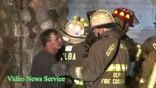 Elba, NY Oak Orchard road fire