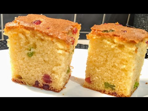 Tutti Frutti Cake Recipe/ Easy Fruit Cake Recipe At Home/Fruit Cake Recipe At Home