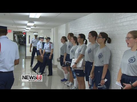 """Reporting-In"" Day For U.S. Coast Guard Academy In New London"