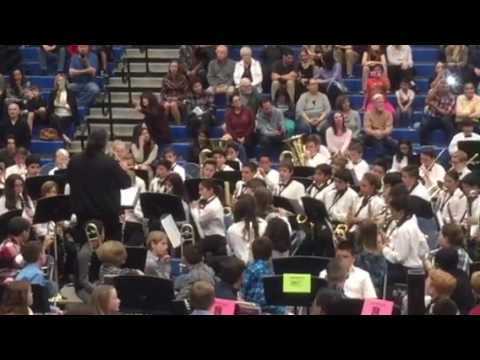 Niguel Hills Middle school winter band concert number one