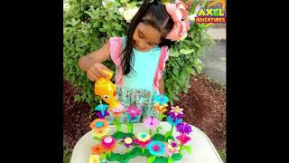 Build A Flower Garden| Flower Stacking Toy| Flower Toy| Toy USA| Unboxing | Kidfluencers|