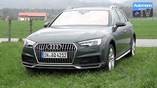 2017 Audi A4 Allroad 2.0 TDI (190hp) - DRIVE & SOUND (60FPS)