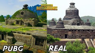 Real Life Places In Pubg | Real Life Sanhok Map