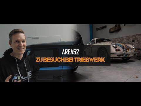 Area52TV - Zu Besuch bei Triebwerk Schwelm | Ein kleiner Rundgang | Porsche Gulf | Rallye Mercedes