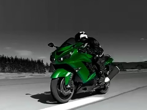 Kawasaki ZZR 1400 (ZX-14R) Action Video
