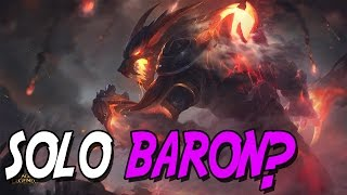 Can the REWORK WARWICK SOLO BARON?   League of Legends Gameplay