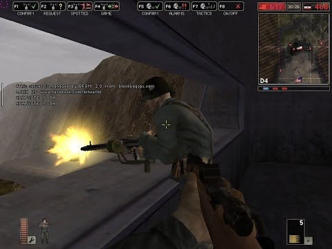 Battlefield 1942 Online Multiplayer Gameplay 2016, Omaha Beach