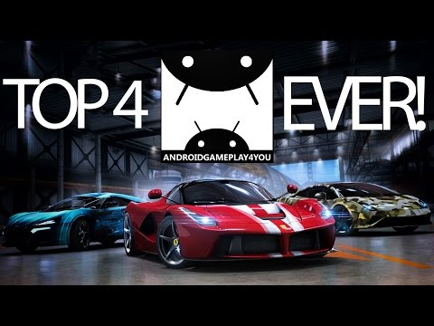 TOP 4 BEST ANDROID RACING GAMES EVER!