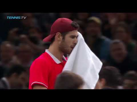 Hot Shot: Khachanov Breaks Djokovic In Stunning Fashion In Paris 2018