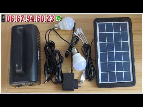 Super Mini Système Énergie Solaire -  Disponible au Maroc