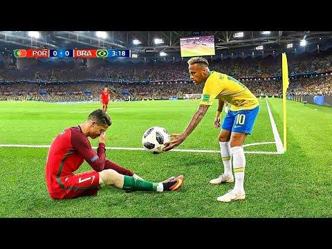 Kehormatan Dan Momen Emosional Neymar Jr