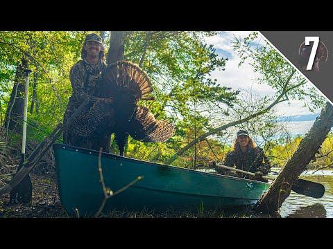 Public Land CANOE Turkey Hunt – Florida River Bottom Adventure!