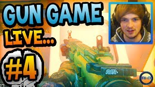 """AWESOME START!"" - Gun Game LIVE w/ Ali-A #4! - (Call of Duty: Ghost)"