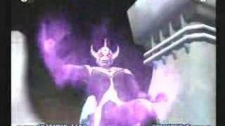 ultraman PS2 SP Finish Taro VS Chaos T