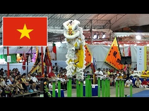 2014 INTERNATIONAL LION DANCE COMPETITION - Việt Nam múa lân mua lan