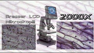 2000X VERGRÖSSERUNG!!! Bresser LCD Mikroskop | GraniteStone
