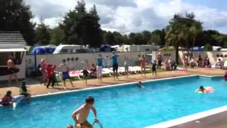 Monkey Tree Holiday Park in Cornwall - flash mob
