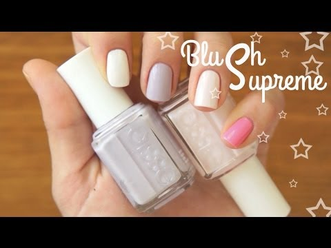 фото ногтях и лак розовый на белый