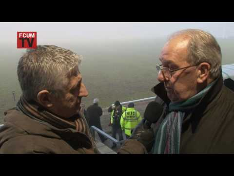 FCUM.TV talk to former Manchester United centre half & Busby Babe, Ronnie Cope, 06/02/10