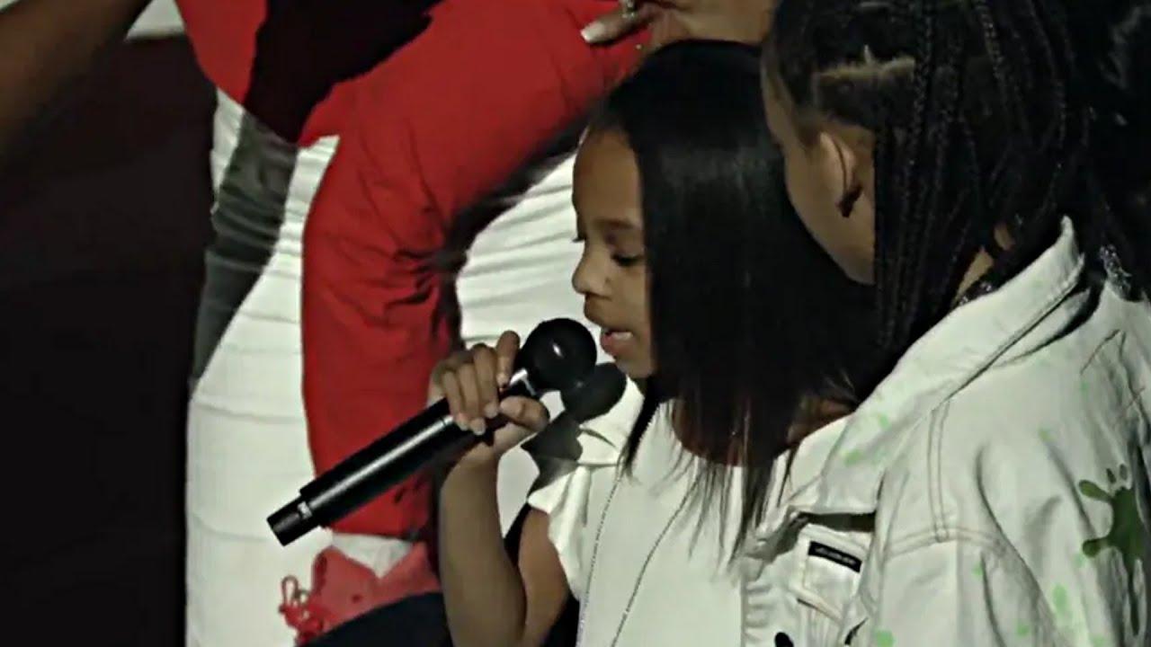 "DMX's Daughter Freestyles Her Dad's Song ""Slippin"" | DMX Memorial | RIP DMX"