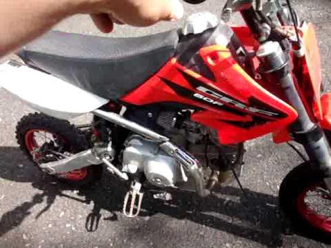 Honda crf 50 crf50 pit bike creation 4 sale on ebay 52009 youtube publicscrutiny Choice Image