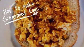 Haitian Recipes: Haitian Scrambled Eggs   Ze Fwi