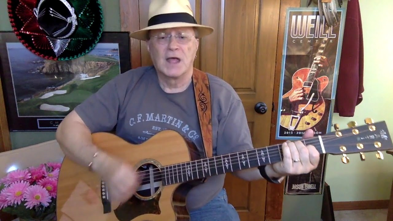 Download 2287 -  Born To Be Blue -  Mavericks cover  - Vocals -  Acoustic guitar & chords