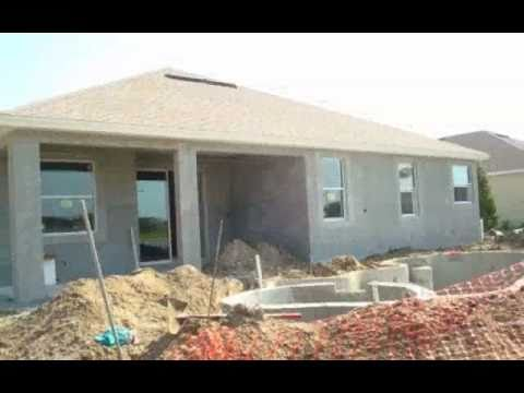 Roger's Florida Creation- New Home Under Construction in Viera Florida