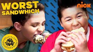 PRANK BACKFIRES! 🥪 Nasty Sandwich Challenge w/ Chinguun & Ryan | All That