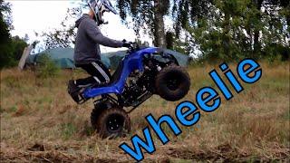 Eskil Testar  Renegade 125cc ATV