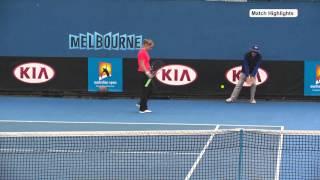 AO Wildcard Playoffs (R1): Jarmila Gajdosova v Jelena Dokic