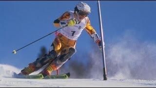 Alpine Skiing Triple Gold Medalist Vreni Schneider - 1994 Lillehammer Winter Olympics