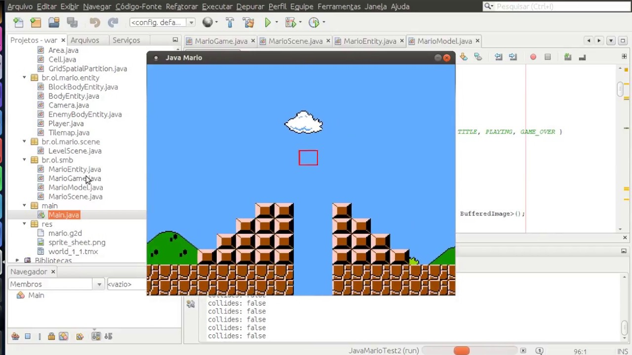 Java 2D Game from scratch - Super Mario Bros (1985) Progress #1