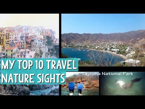 TOP 10 Best Travel Nature Sights + IT'S MY BIRTHDAY :-D